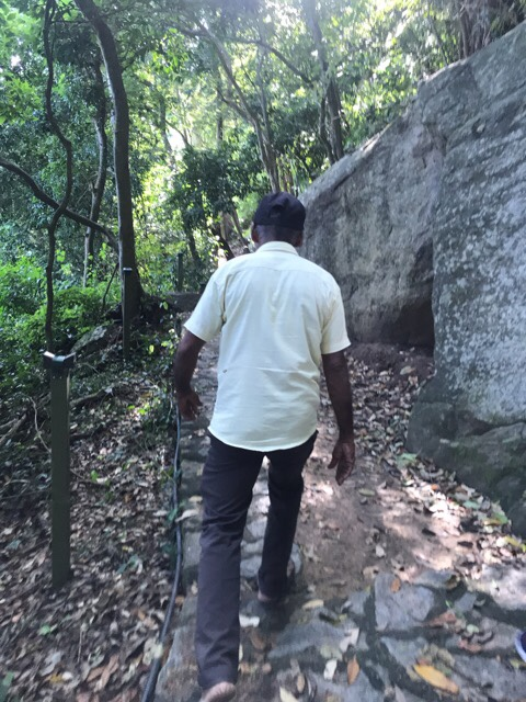 Sri Lanka Jasmine Tours & Drivers  スリランカジャスミンツアーズ撮影 ヤーパフワの登山その1