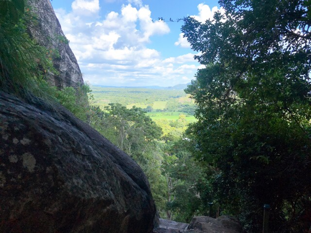 Sri Lanka Jasmine Tours & Drivers  スリランカジャスミンツアーズ撮影 ヤーパフワの登山その2 絶景