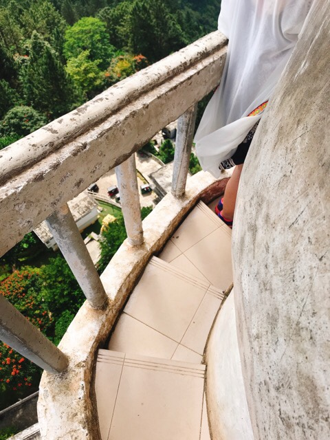Sri Lanka Jasmine Tours & Driver スリランカジャスミンツアーズ撮影。 アンブルワワタワーに登る 頂上からの眺め