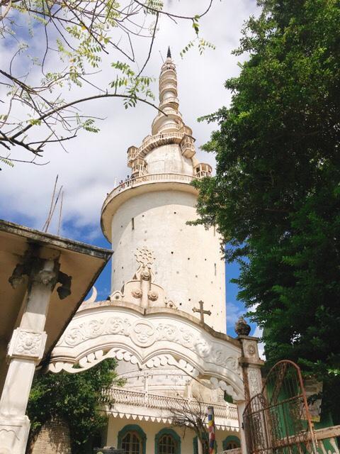 Sri Lanka Jasmine Tours & Driver スリランカジャスミンツアーズ撮影。 アンブルワワ・タワー全体。