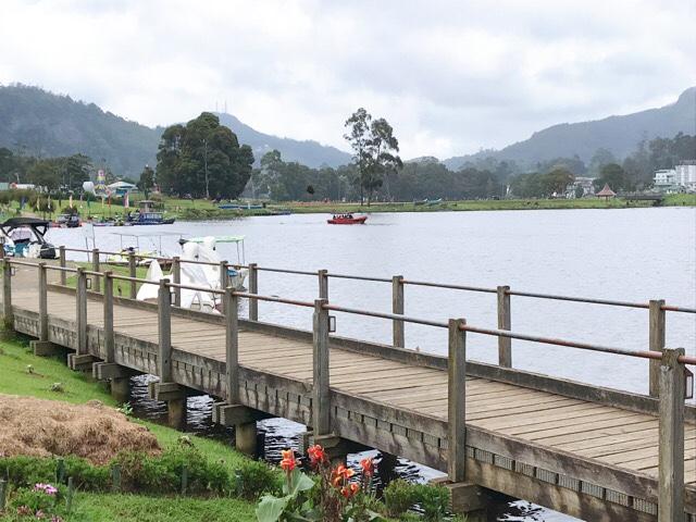 Sri Lanka Jasmine Tours & Drivers スリランカジャスミンツアーズ 撮影。ヌワラエリヤのグリゴリー湖