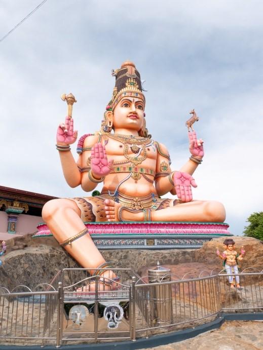 Sri Lanka Jamine Tours スリランカジャスミンツアーズ のお客様撮影。トリンコマリーKoneswaram寺院