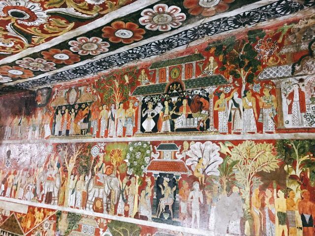 Sri Lanka Jasmine Tours & Drivers スリランカジャスミンツアーズ撮影。 マルキリガラ寺院 マルキリガラ遺跡 ムルキリガラ の王朝時代の壁画